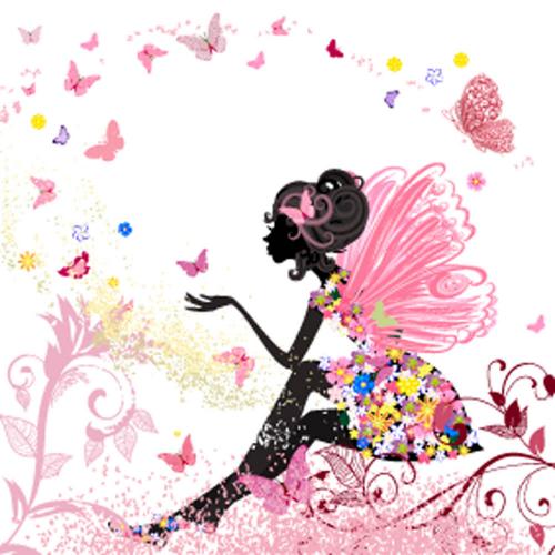 Каталог Картина цветочная фея: Детские | Wall-Style