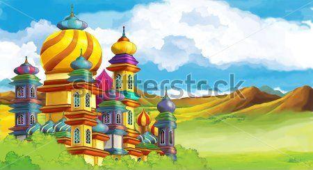 Каталог Картина замок: Детские   Wall-Style