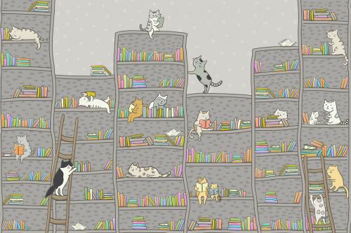 Каталог Картина полки с котятами: Детские | Wall-Style