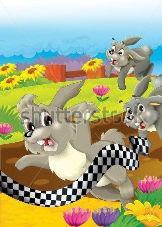Каталог Картина зайчики: Детские | Wall-Style