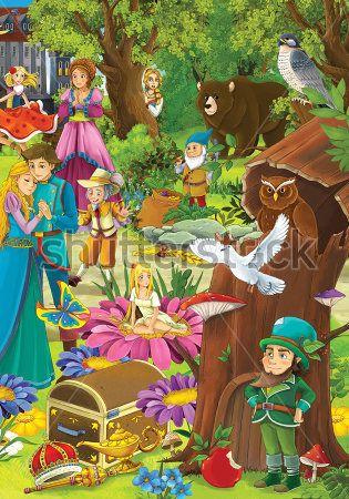 Каталог Картина сказочные герои: Детские   Wall-Style
