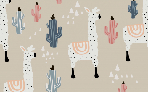 Каталог Картина ламы: Детские   Wall-Style