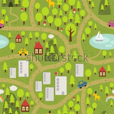 Каталог Картина город: Детские | Wall-Style