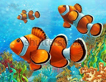 Каталог Фотообои рыбки:  | Wall-Style