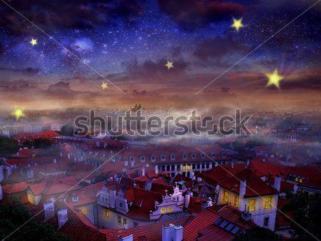 Каталог Картина ночной город: Детские | Wall-Style