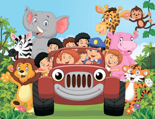 Каталог Картина джунгли: Детские   Wall-Style