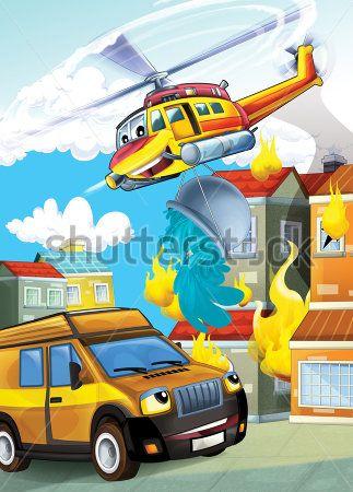 Каталог Картина на пожаре: Детские   Wall-Style