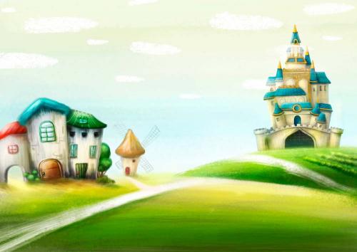 Каталог Картина замок: Детские | Wall-Style