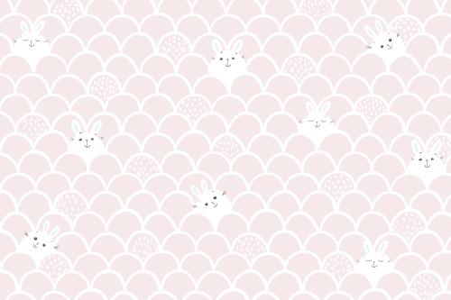 Каталог Картина зайки на розовом фоне: Детские | Wall-Style