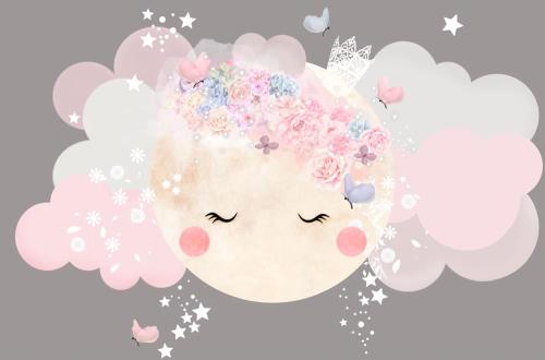 Каталог Картина солнышко-облачко: Детские | Wall-Style