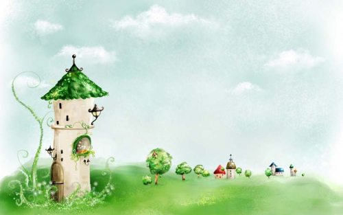 Каталог Картина башня: Детские | Wall-Style
