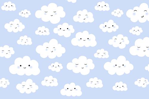 Каталог Фотообои облачка на голубом фоне:  | Wall-Style