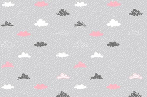 Каталог Картина облачка на сером фоне: Детские   Wall-Style