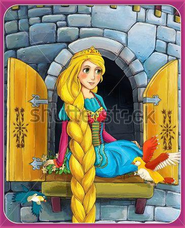 Каталог Картина коса рапуцель: Детские | Wall-Style