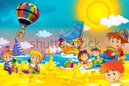 Каталог Фотообои дети на пляже:    Wall-Style