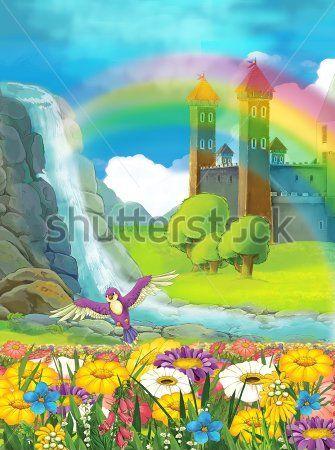 Каталог Картина водопад: Детские   Wall-Style