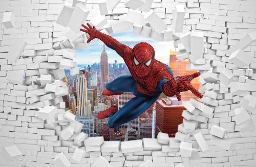 Каталог Фотообои человек паук:  | Wall-Style