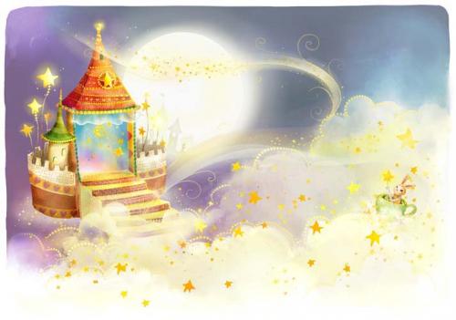 Каталог Картина сказочный замок: Детские | Wall-Style