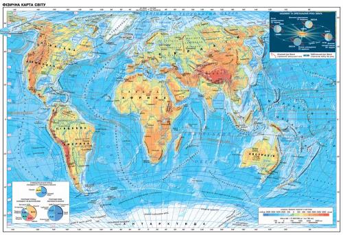 Каталог Фотообои современная карта мира:  | Wall-Style