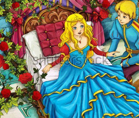 Каталог Картина спящая красавица: Детские | Wall-Style