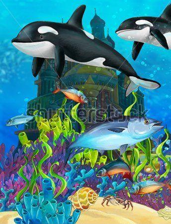 Каталог Картина подводное царство: Детские | Wall-Style