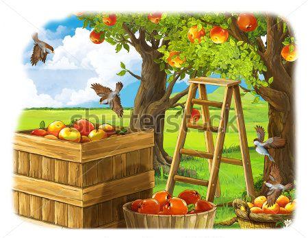 Каталог Картина яблоки: Детские   Wall-Style