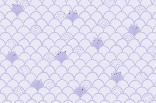 Каталог Фотообои паттерн с лисичками:  | Wall-Style
