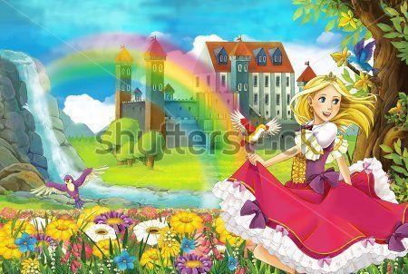 Каталог Фотообои принцесса:    Wall-Style