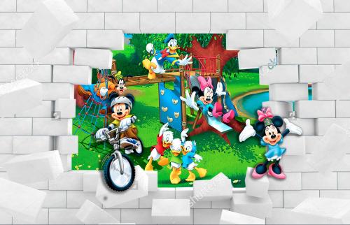 Каталог Картина минни со стены: Детские   Wall-Style