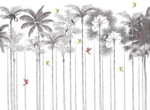 Высокие пальмы