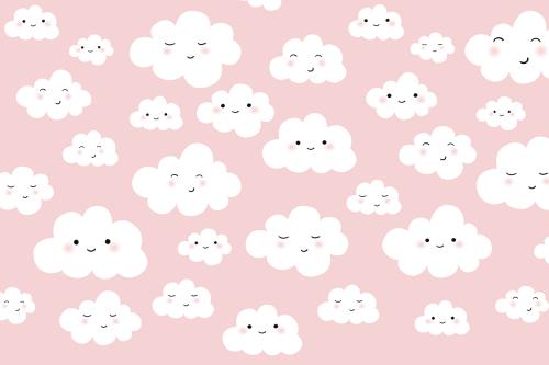 Каталог Картина облачка на розовом фоне: Детские   Wall-Style