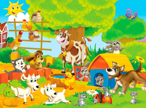 Каталог Картина ферма: Детские   Wall-Style