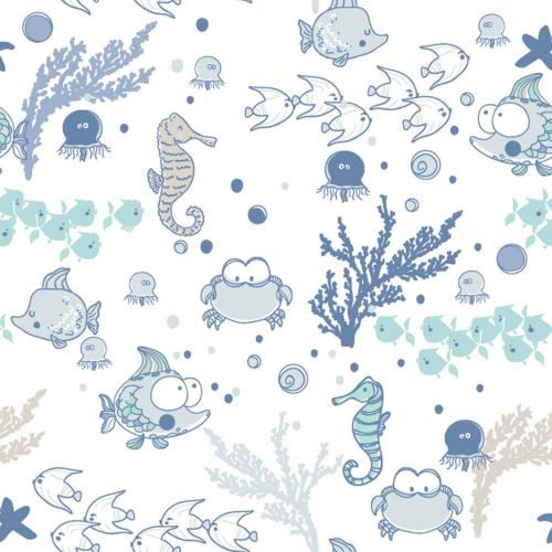 Каталог Картина морские животные: Детские   Wall-Style