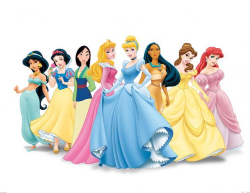 Каталог Картина принцессы на белом фоне: Детские | Wall-Style