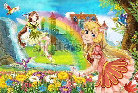 Каталог Картина феи на природе: Детские   Wall-Style