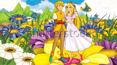 Каталог Картина свадьба дюймовочки: Детские   Wall-Style