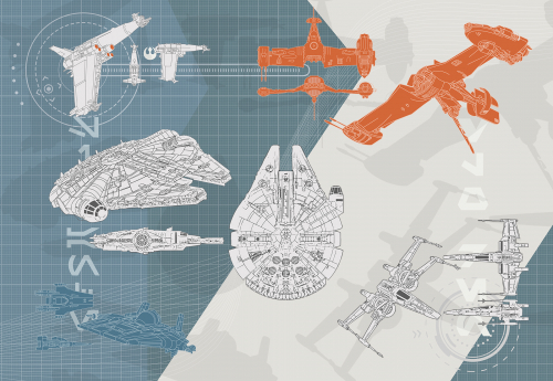 Каталог Фотообои космический корабль:  | Wall-Style