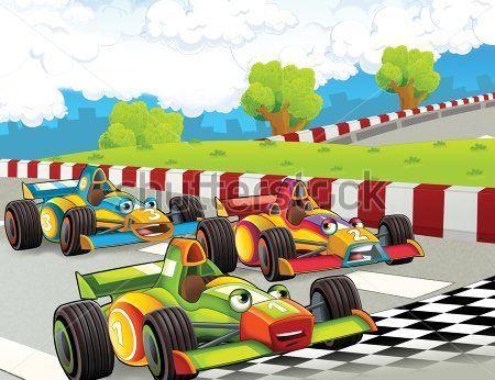 Каталог Картина гоночный кар: Детские | Wall-Style