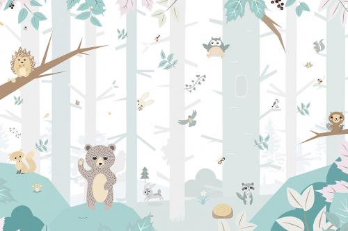 Каталог Картина лес: Детские | Wall-Style