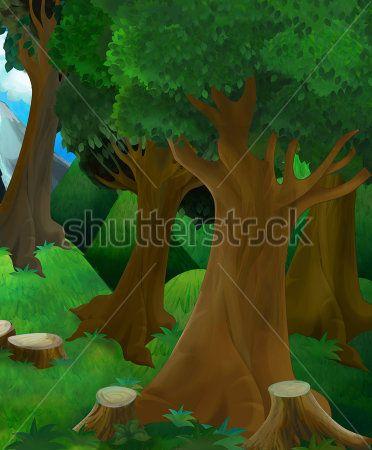 Каталог Фотообои сказочный лес:    Wall-Style
