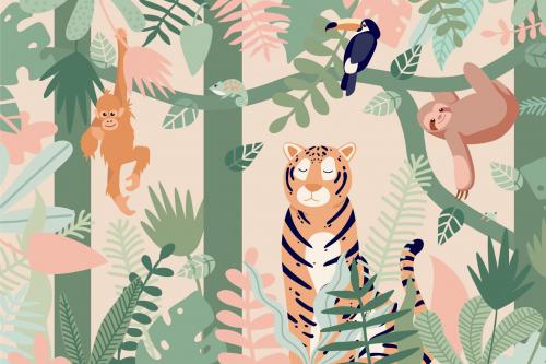Каталог Картина тропики: Детские | Wall-Style