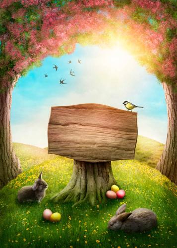 Каталог Фотообои волшебная полянка:  | Wall-Style