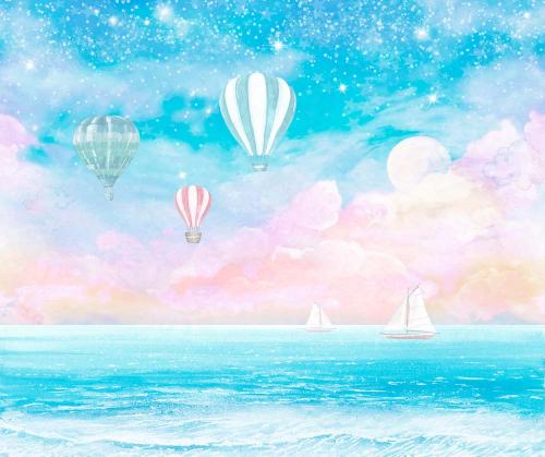 Каталог Картина воздушные шары: Детские   Wall-Style