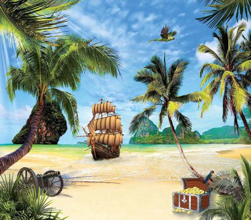Каталог Картина пираты: Детские   Wall-Style