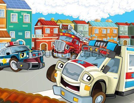 Каталог Картина служебные машины: Детские | Wall-Style