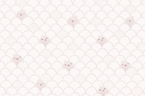 Каталог Картина паттерн с птенцами: Детские   Wall-Style