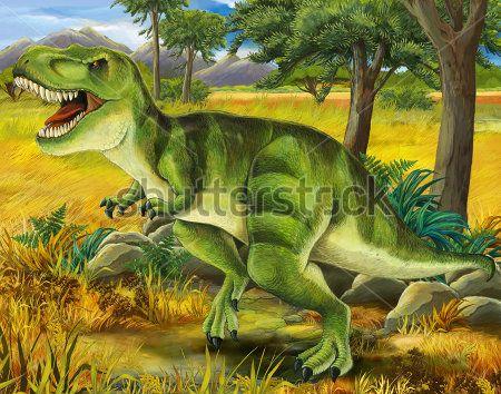 Каталог Картина динозавр: Детские | Wall-Style