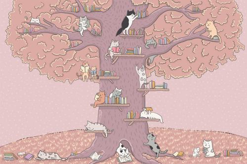 Каталог Фотообои котята на дереве:  | Wall-Style