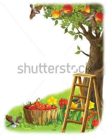 Каталог Картина яблоня: Детские   Wall-Style
