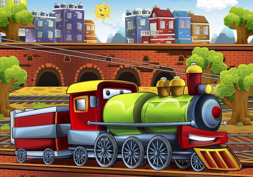 Каталог Картина паровоз: Детские | Wall-Style